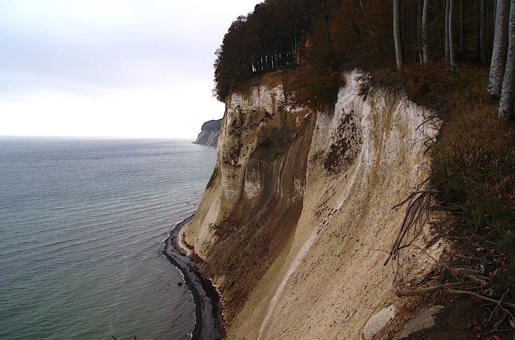 Kreide überall - Felsen im Osten Rügens