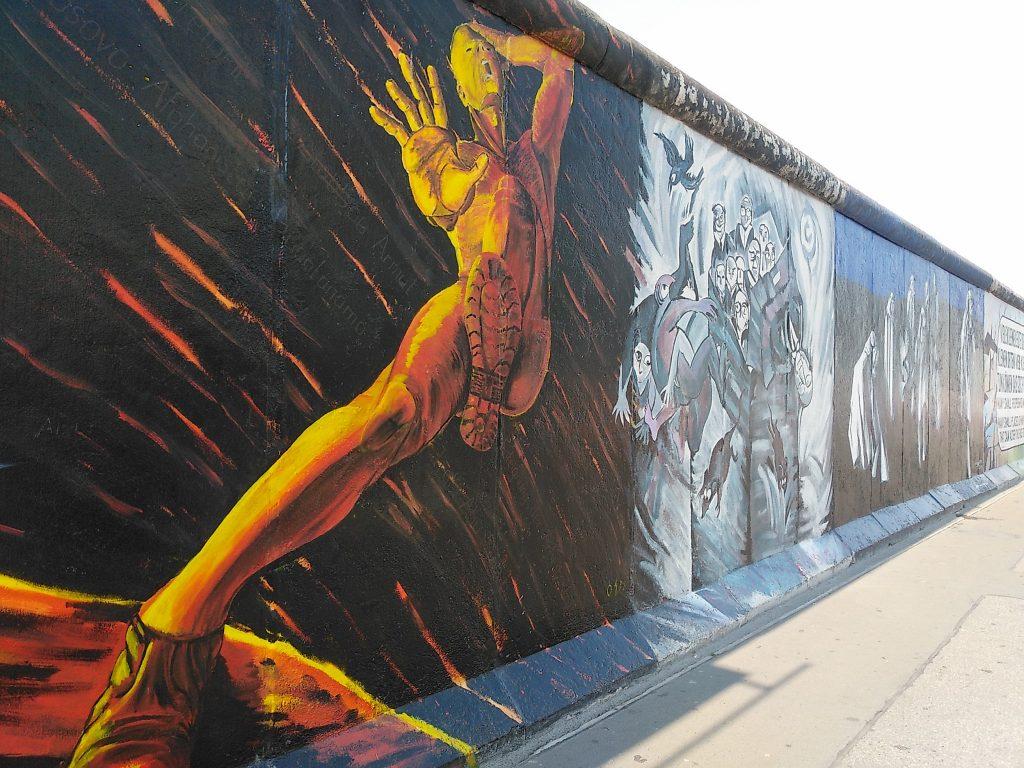 Die Mauer - heute ein Kunstwerk