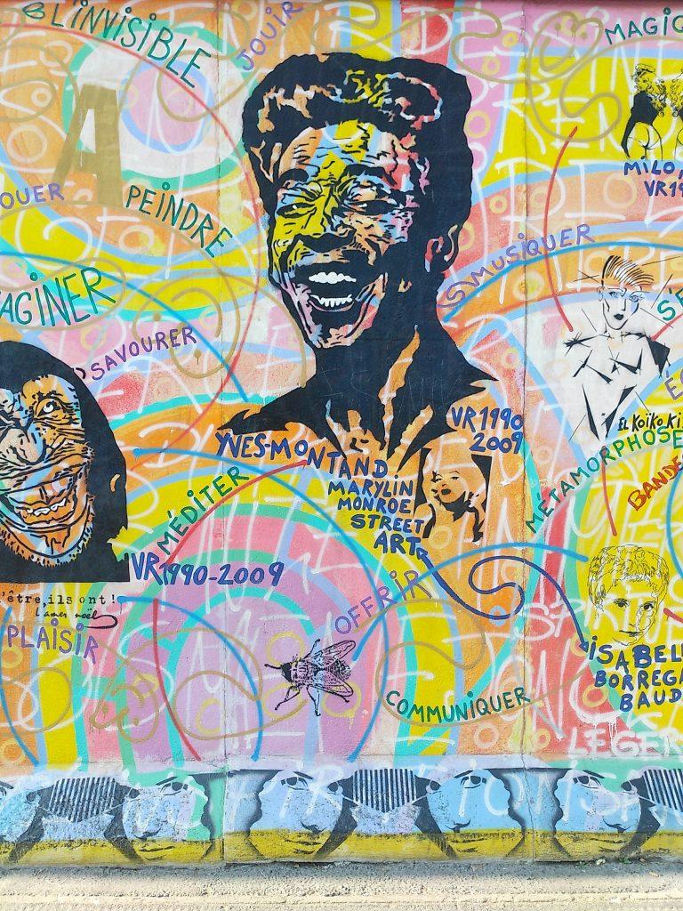Street Art in Berlin. Eastide Gallery
